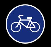 Велосипедная дорожка. Предписывающие знаки