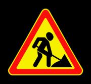 Дорожные работы. Временные дорожные знаки