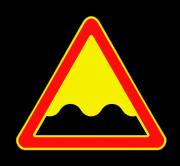 Неровная дорога. Временные дорожные знаки