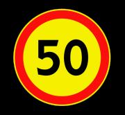 Ограничение максимальной скорости. Временные дорожные знаки