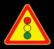 Светофорное регулирование. Временные дорожные знаки