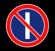 Стоянка запрещена по нечетным числам месяца. Запрещающие знаки