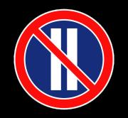 Стоянка запрещена по четным числам месяца. Запрещающие знаки