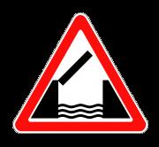 Разводной мост. ПРЕДУПРЕЖДАЮЩИЕ ЗНАКИ