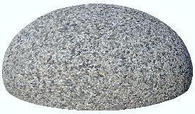 Полусфера бетонная архитектурная 400х200