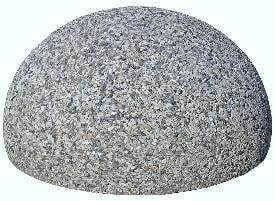 Полусфера бетонная архитектурная 400х300
