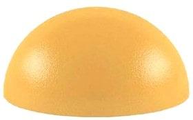 Полусфера бетонная покрашенная 400х200