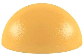 Полусфера бетонная покрашенная 600х300