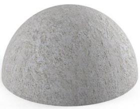 Полусфера бетонная 500х340